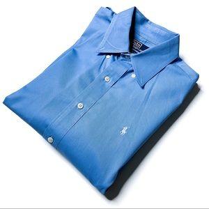 Polo Ralph Lauren Blue Button Down Dress Shirt M